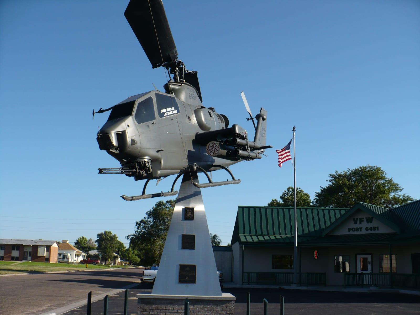 Burlington CO AH-1 Helicopter VFW Post