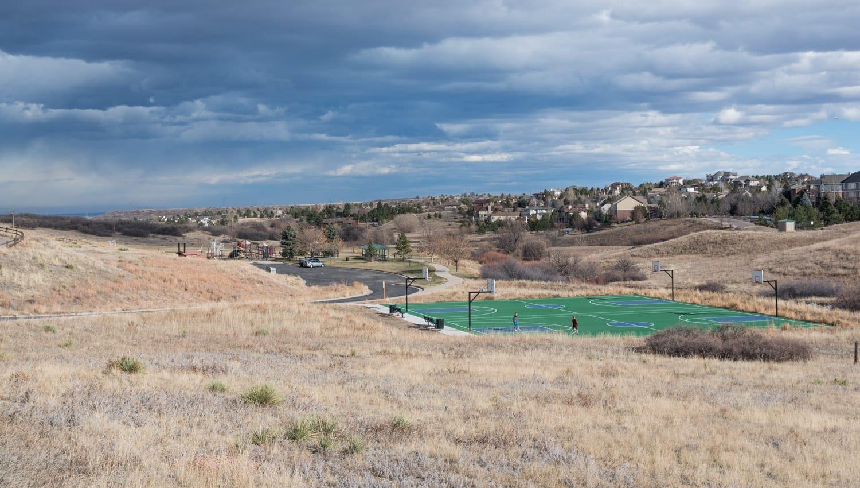 Castle Pines CO Coyote Park