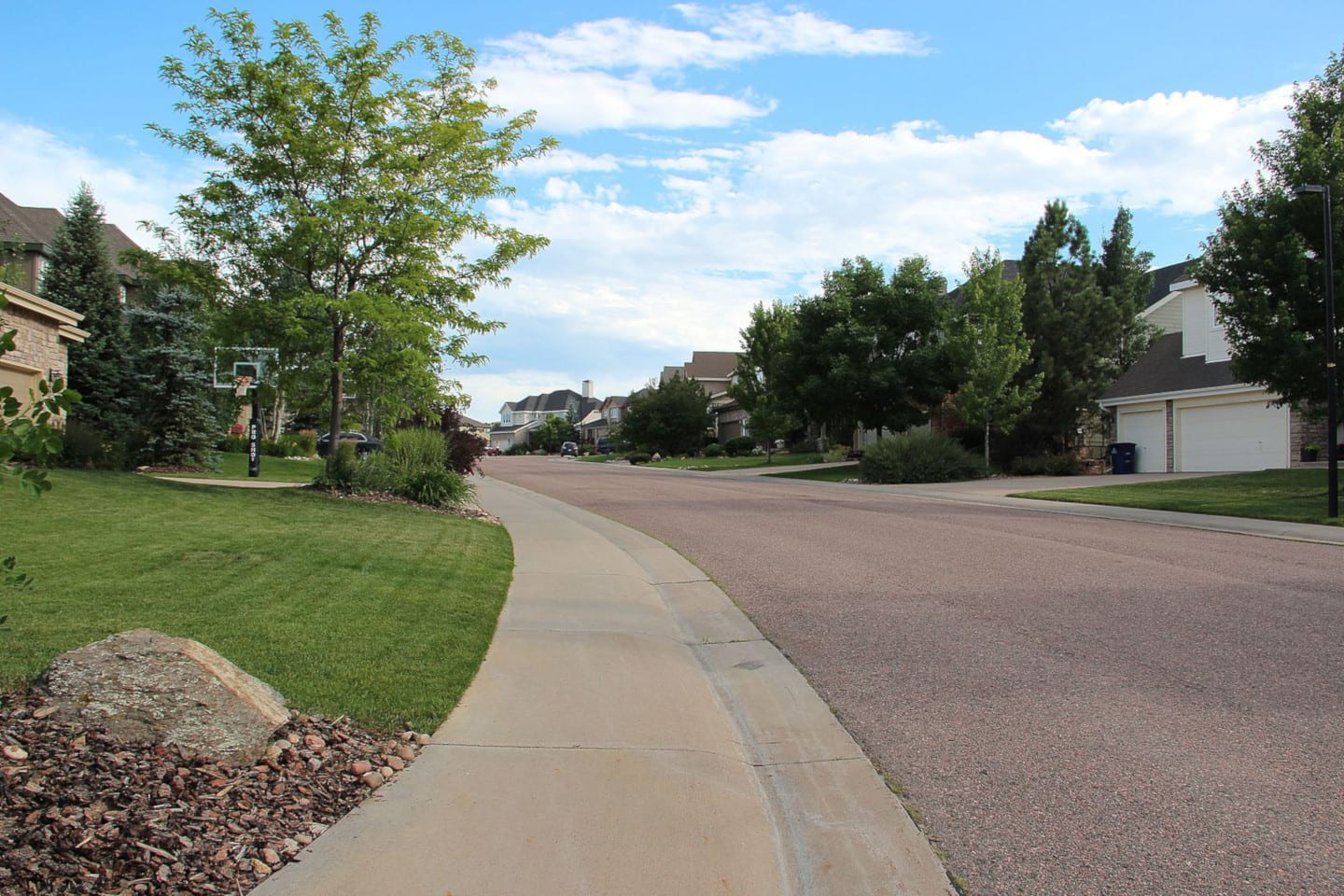 Castle Pines CO Residential Neighborhood Homes