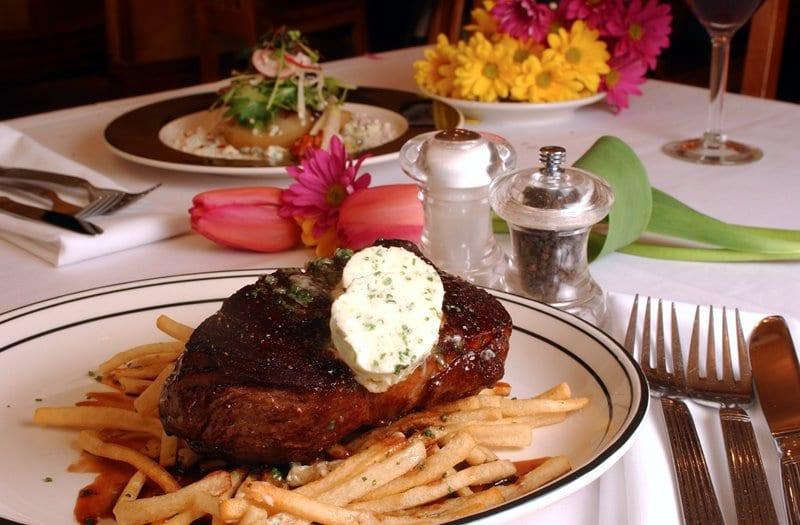 Chop House Restaurant at New Sheridan Telluride Steak Dinner
