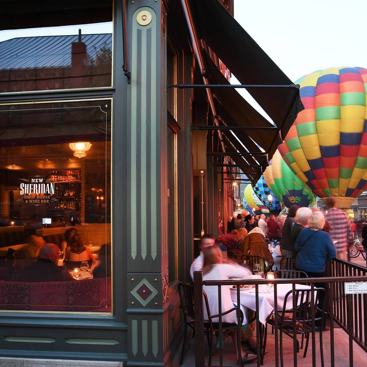 Chop House Restaurant Downtown Telluride Hot Air Balloons