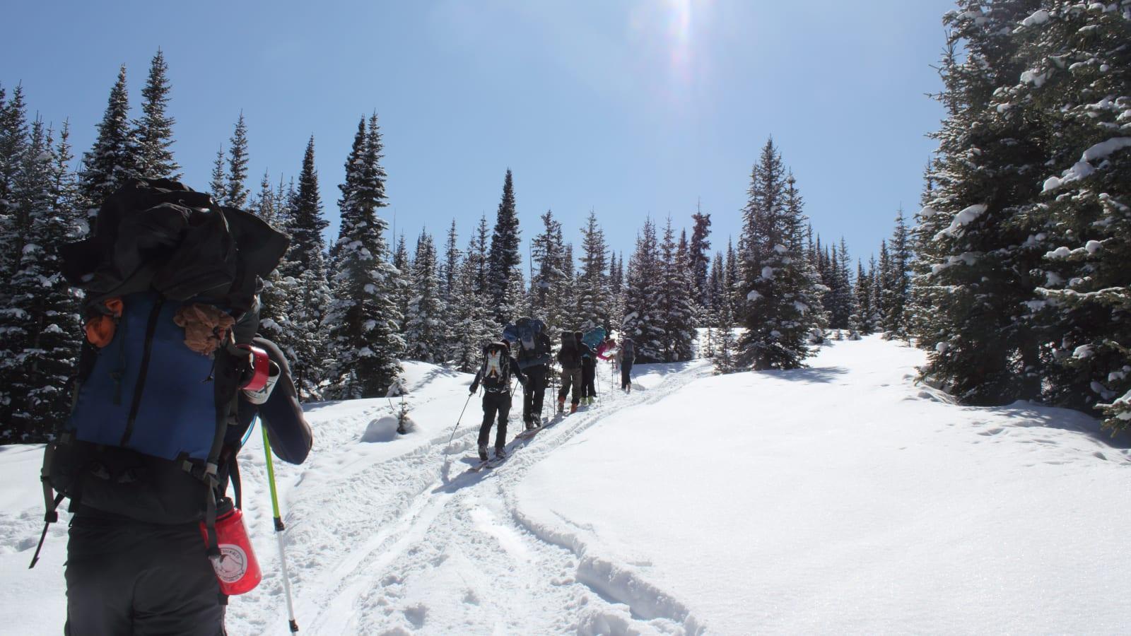 Colorado Peter Estin Hut Trip Basalt
