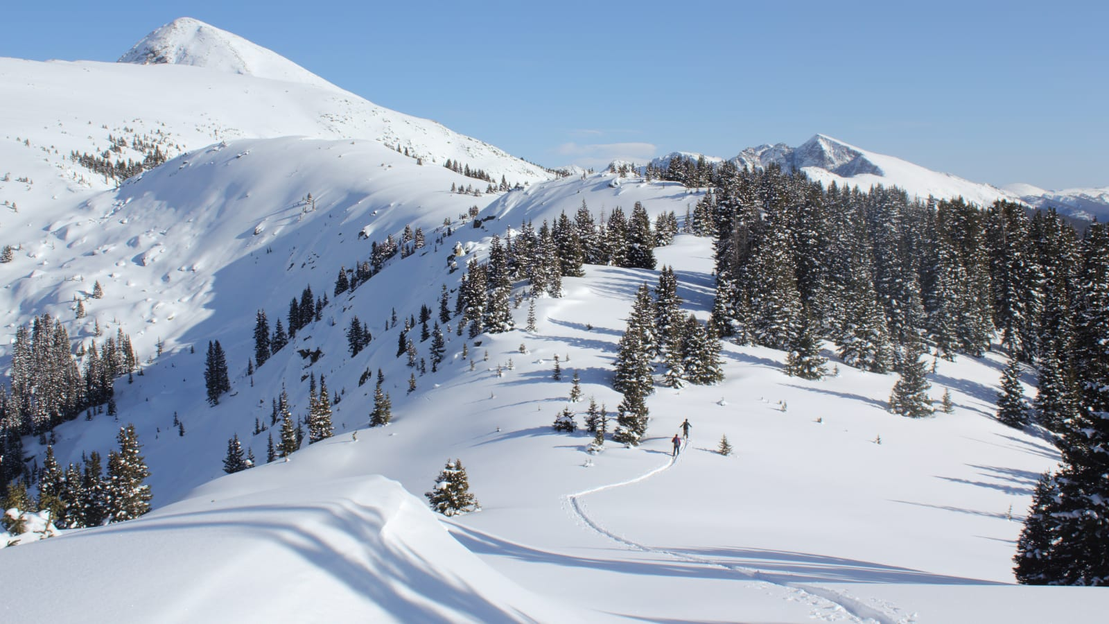 Colorado Peter Estin Hut Trip Basalt Mountain Bowl