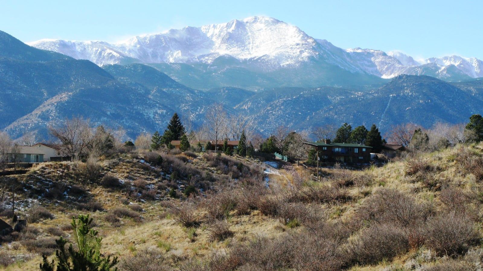 Colorado Springs Home Types Westside Neighborhood Pikes Peak