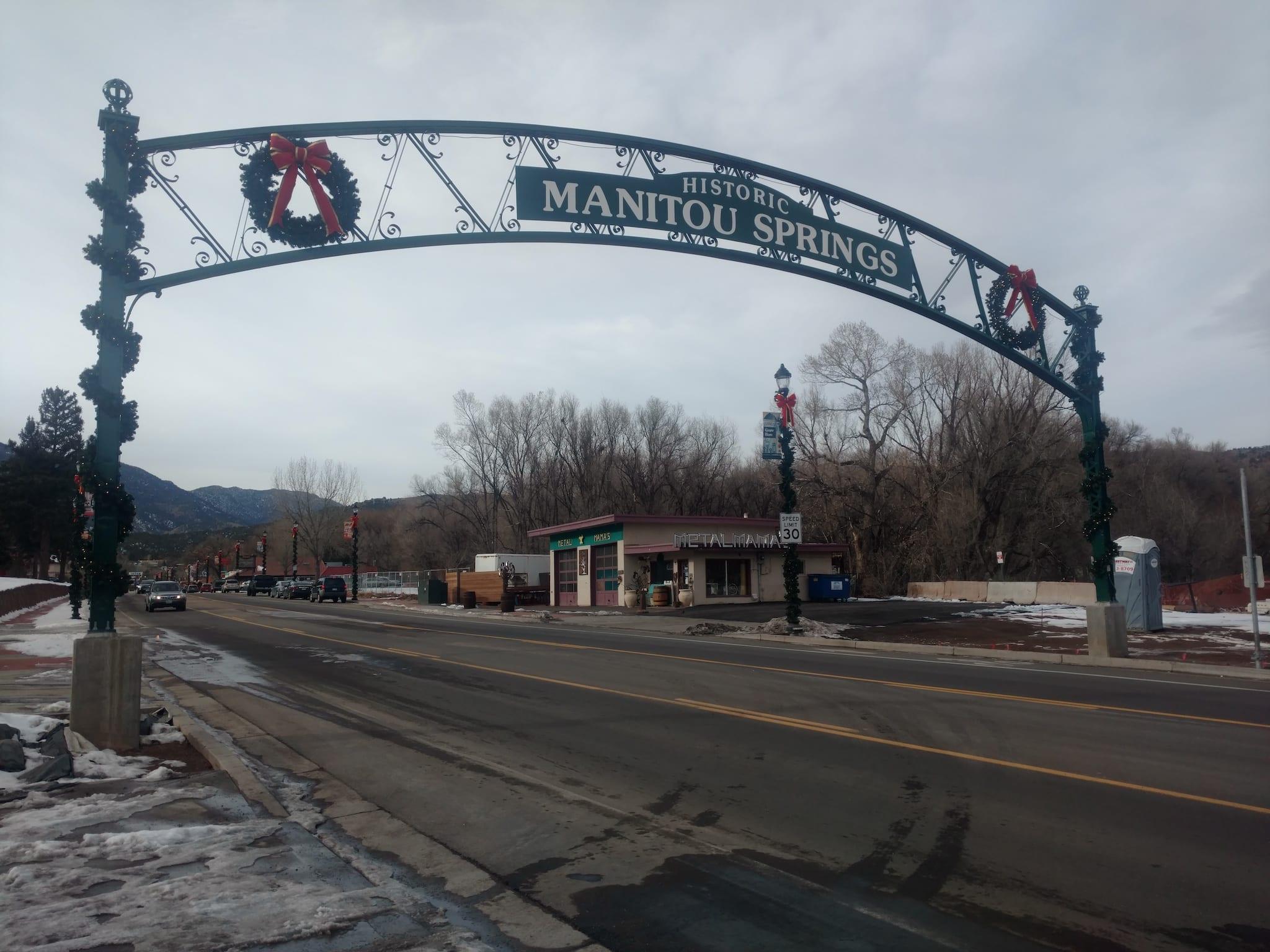 Colorado Springs Neighbor Manitou Springs