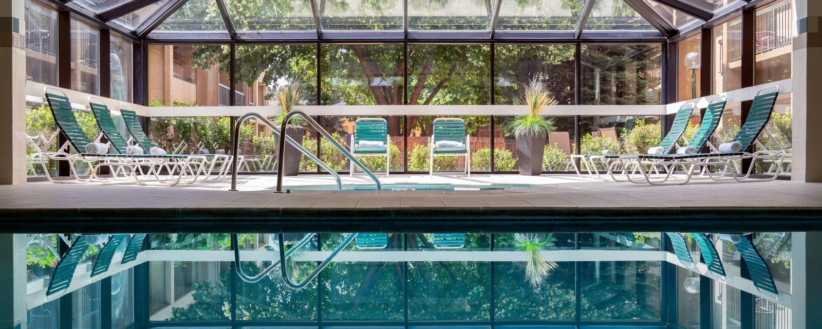 Courtyard by Marriott Denver Stapleton Indoor Swimming Pool