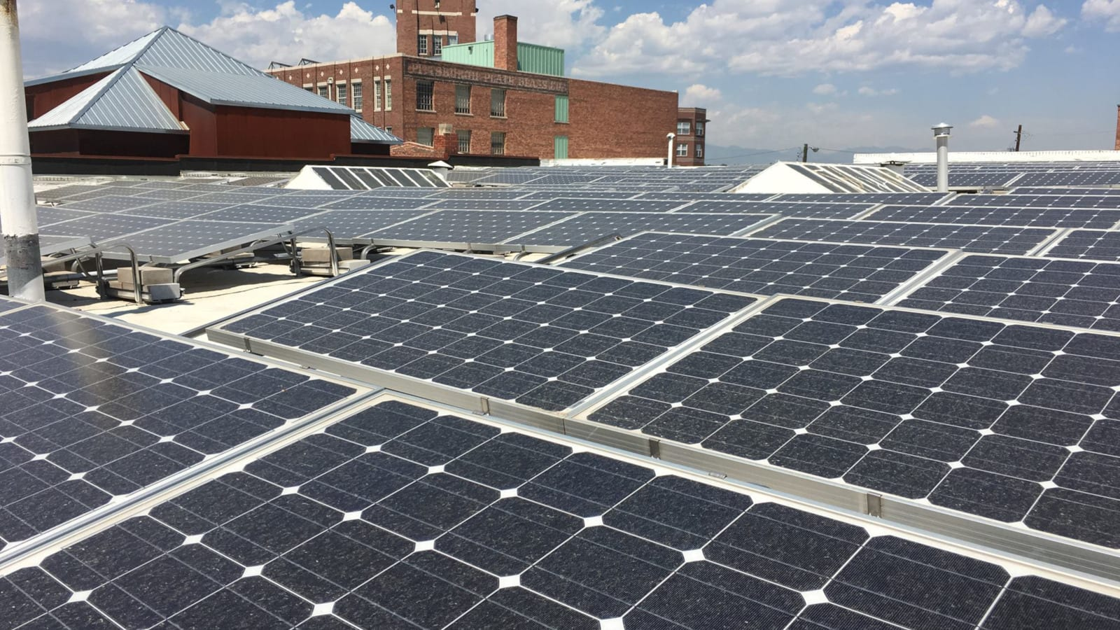 Coworking Green Spaces Solar Panel Roof