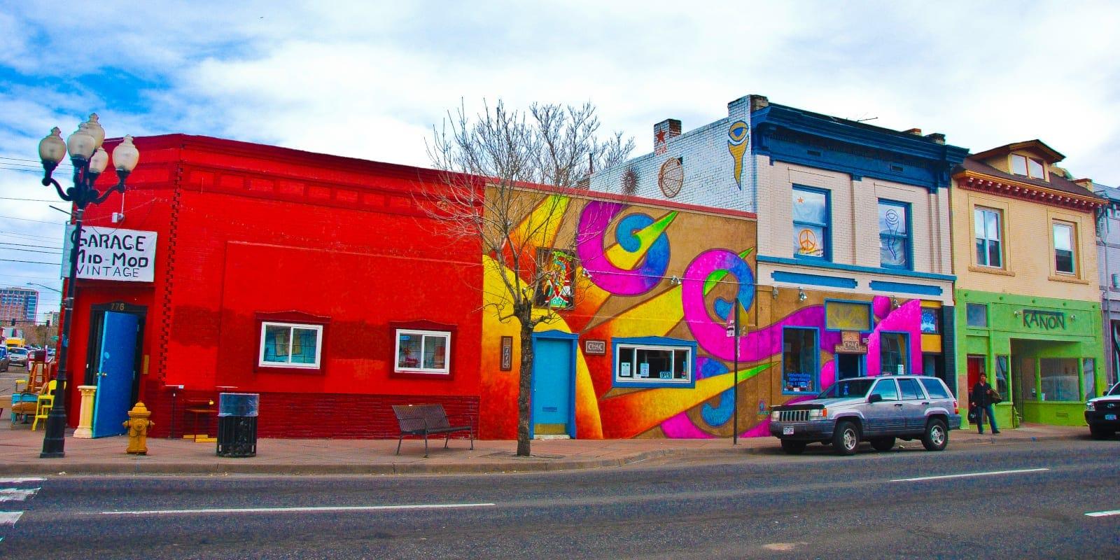 Culture Attractions Santa Fe Arts District Denver Garage Mid Mod Antique Store