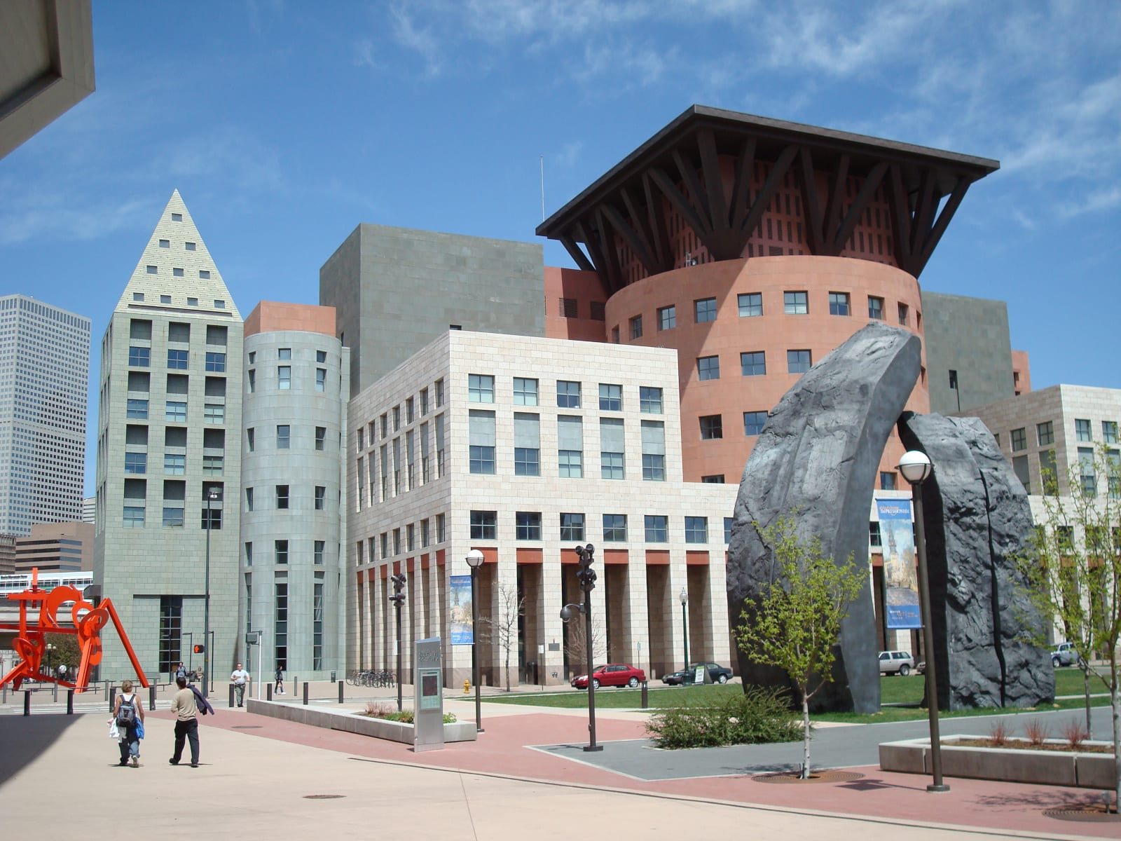 Denver Central Library Exterior
