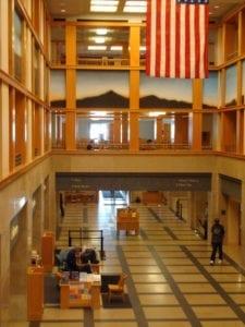 Denver Central Library Interior