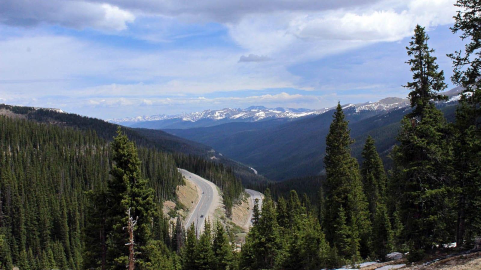 Denver Travel Destination Berthoud Pass Rocky Mountains