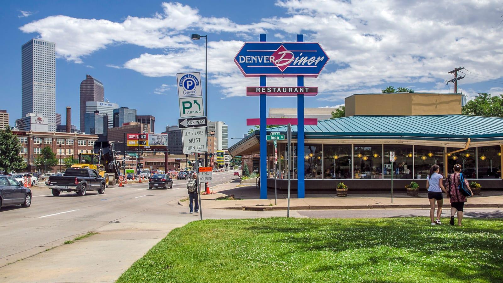 Travel Destination Denver Diner Restaurant Food