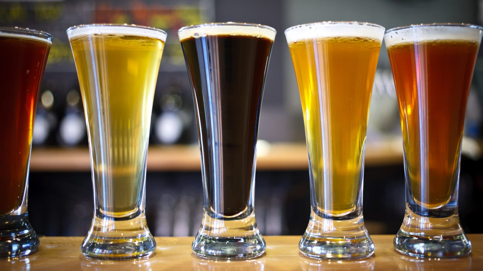Denver Travel Destination River North Brewery Beer Flight
