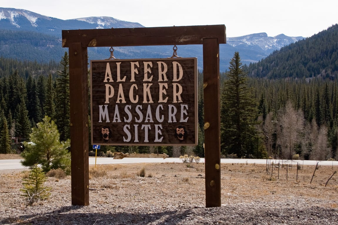 Famous Colorado Murders Alferd Packer Massacre Site