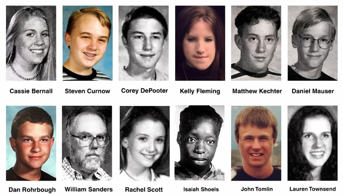 Famous CO Murders Columbine School Shooting Victims