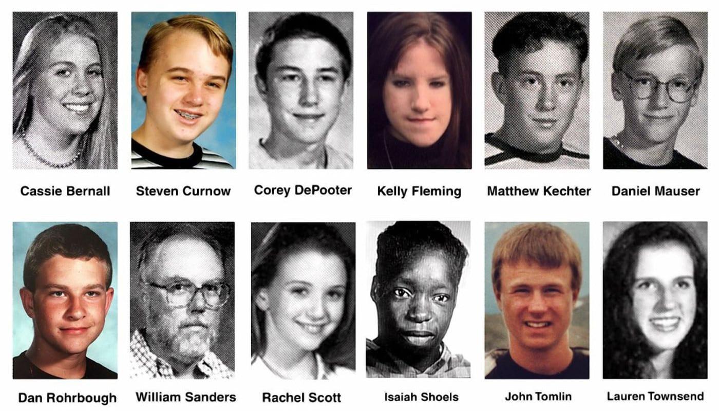 Famous CO Murders Columbine School Shooting Victims