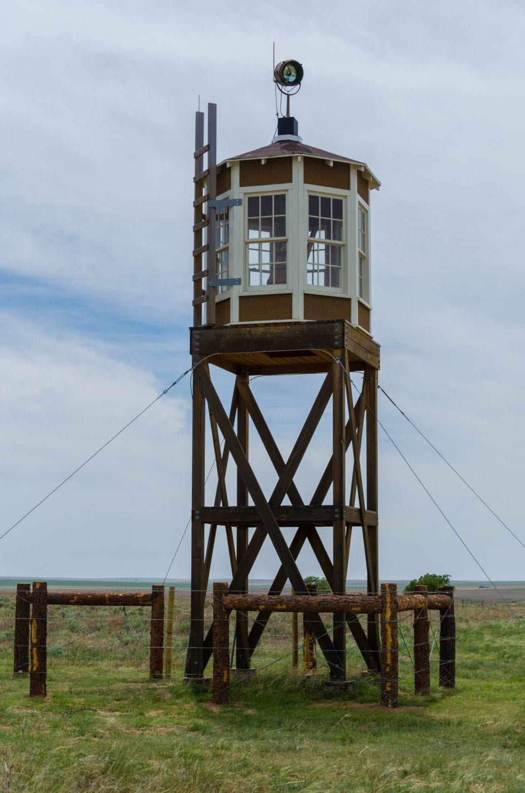 Granada CO Original Guard Tower at Camp Amache