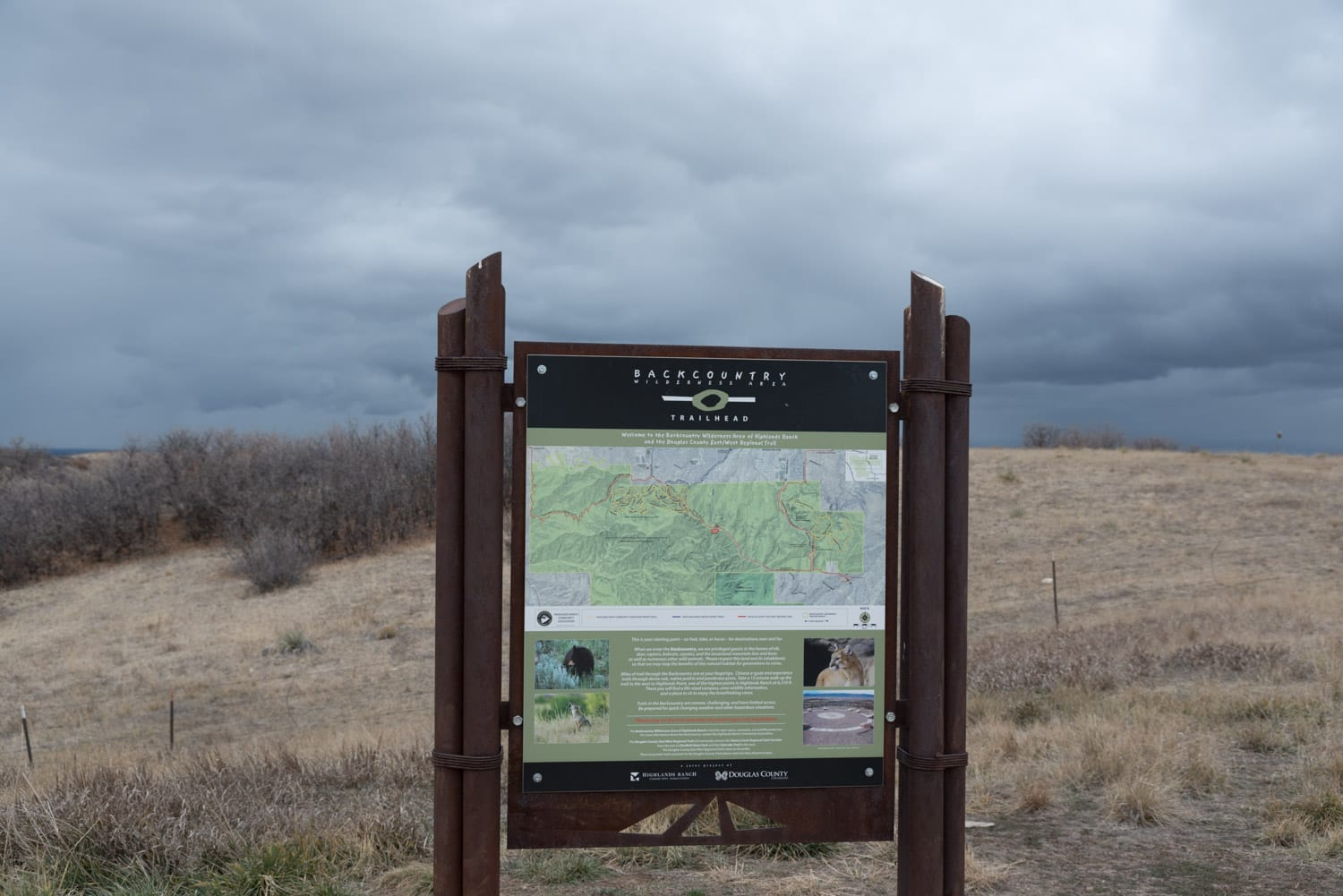 Highlands Ranch CO Backcountry Trail System