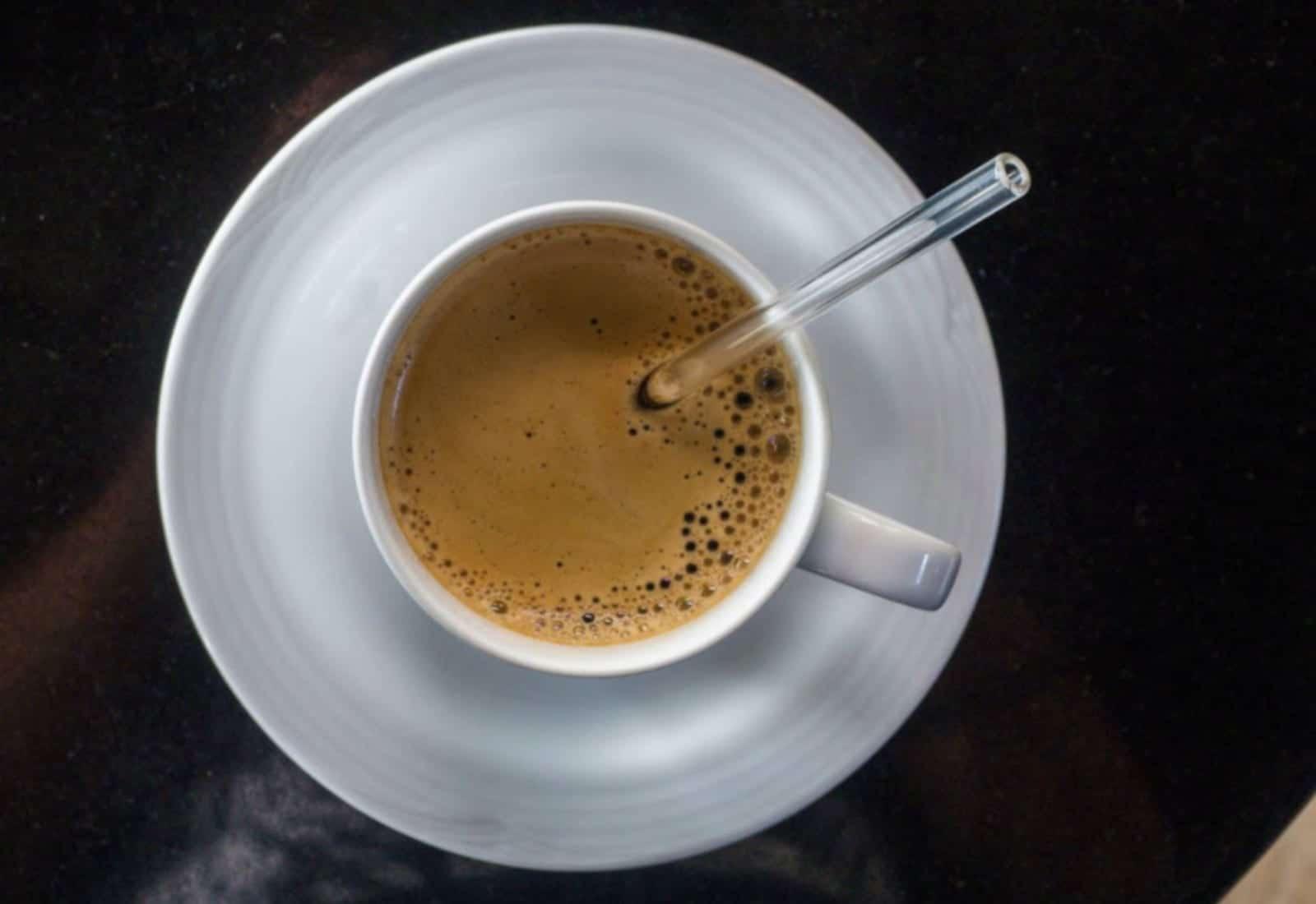 Hummingbird Glass Straws Hot Coffee Straw