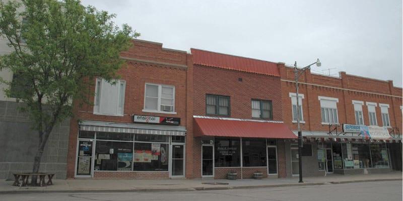 Kit Carson County Downtown Burlington CO