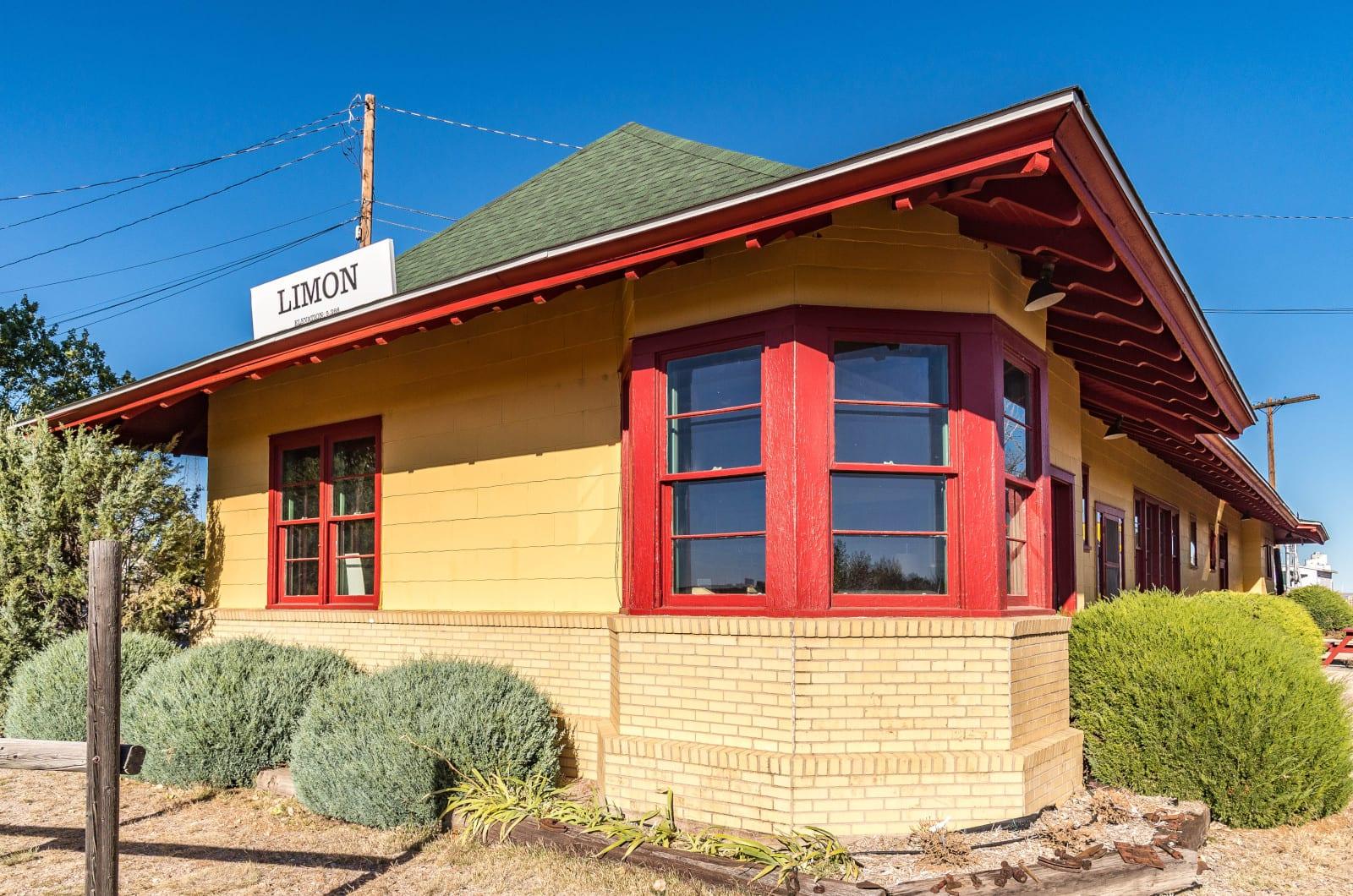 Limon CO Railroad Train Depot