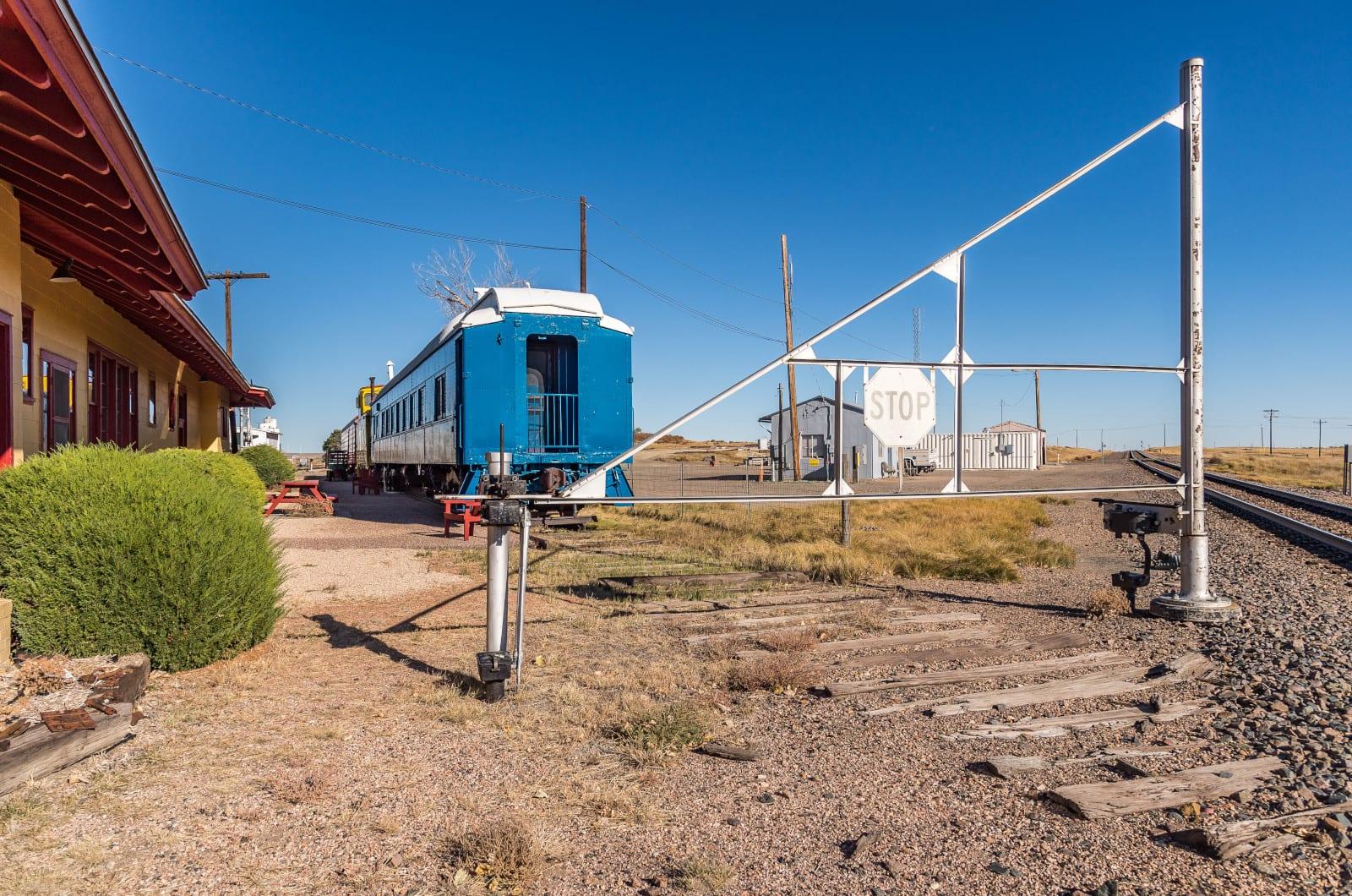 Limon CO Train Railroad Tracks