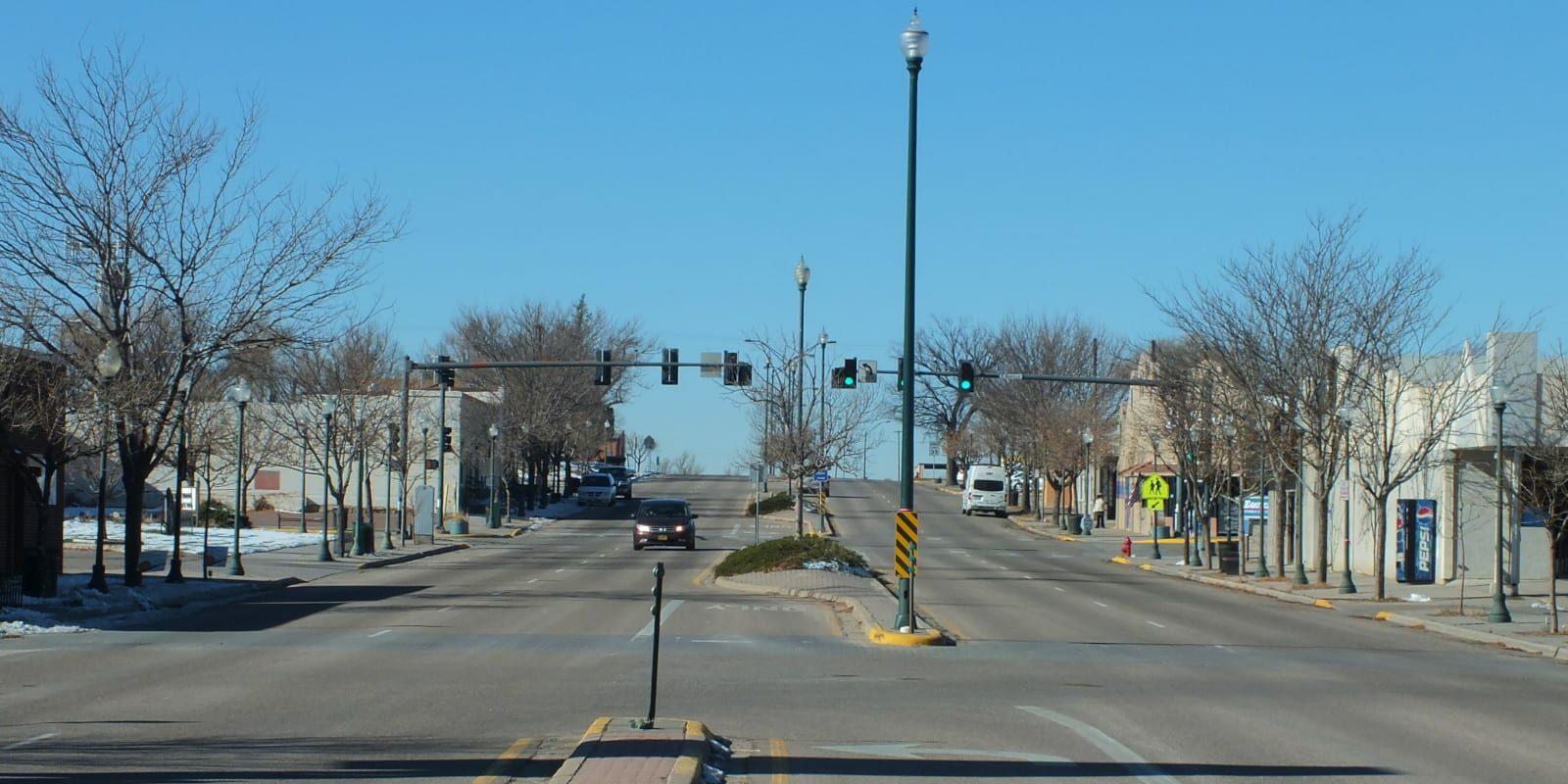 Downtown Limon Colorado Main Street