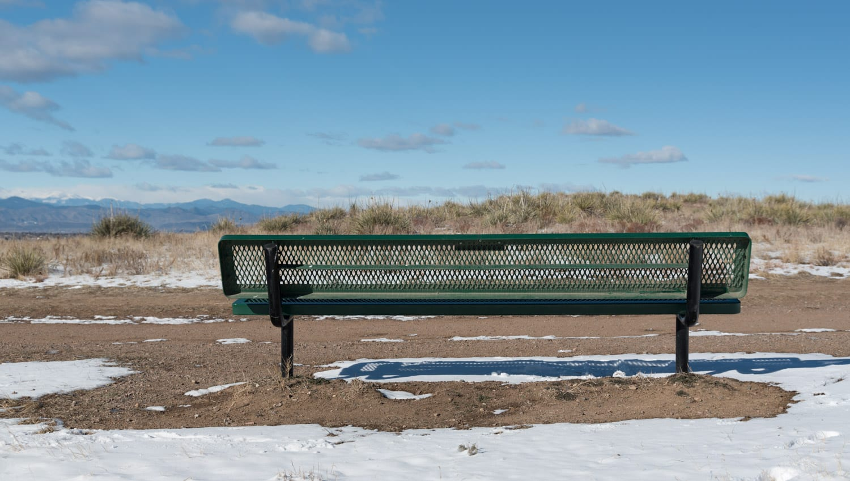 Lone Tree CO Bluffs Regional Park Overlook