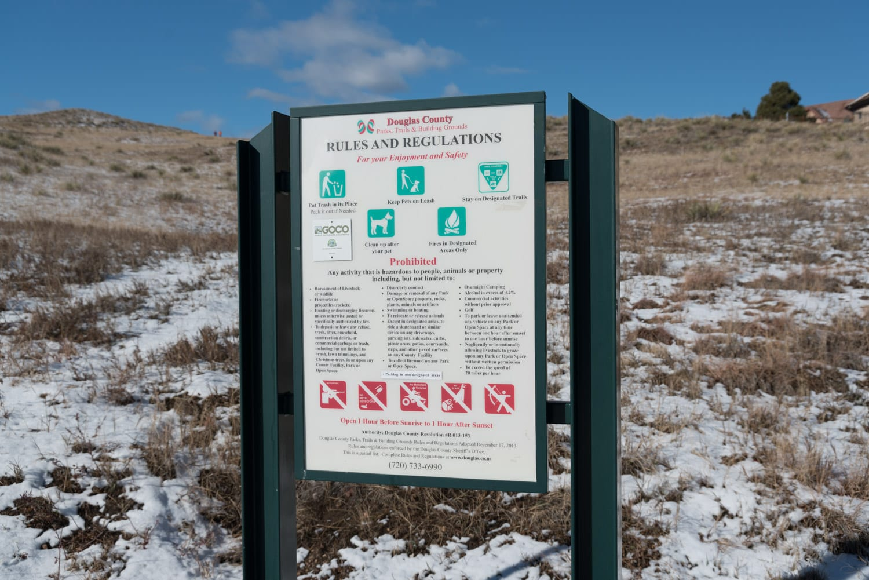 Lone Tree CO Bluffs Regional Park