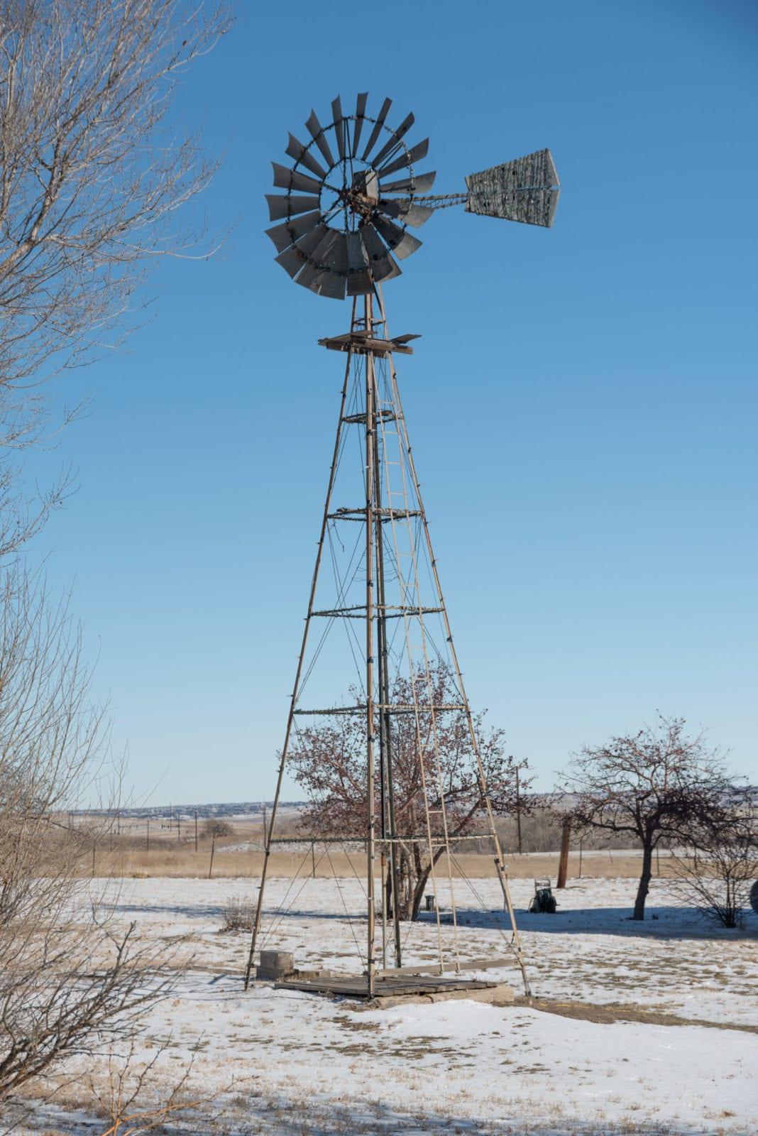 Lone Tree CO Schweiger Ranch Windmill