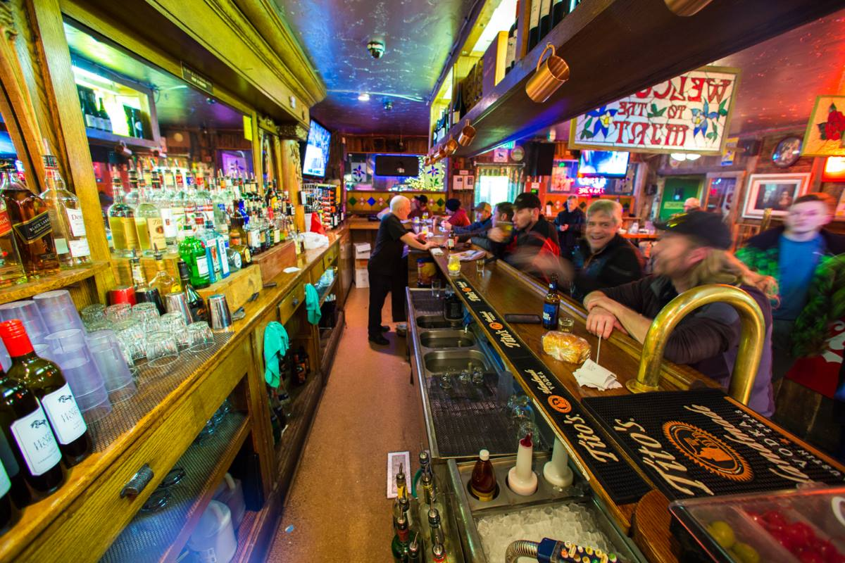 Historic Mint Steakhouse Silverthorne Saloon Bar