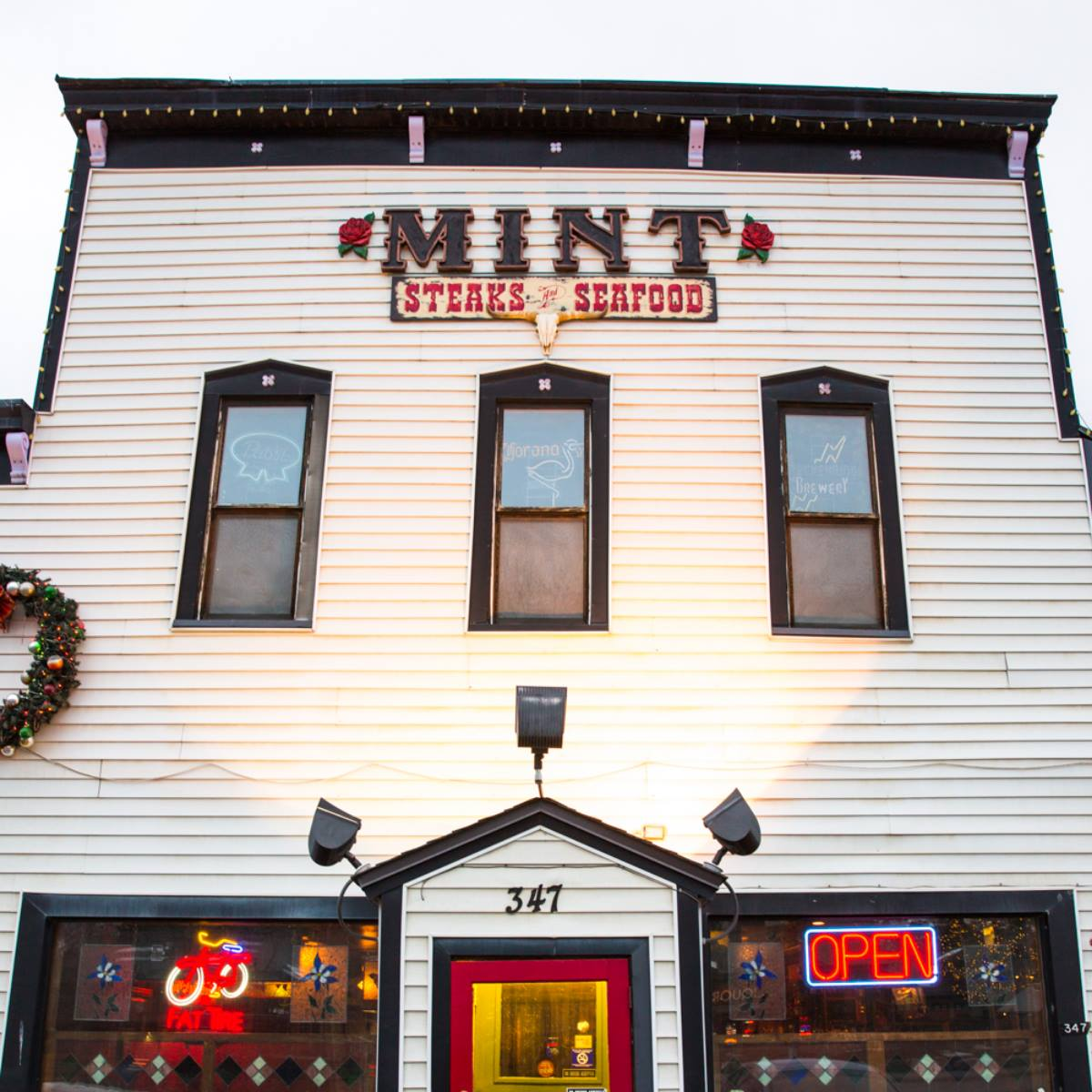 Historic Mint Steakhouse Silverthorne CO Exterior