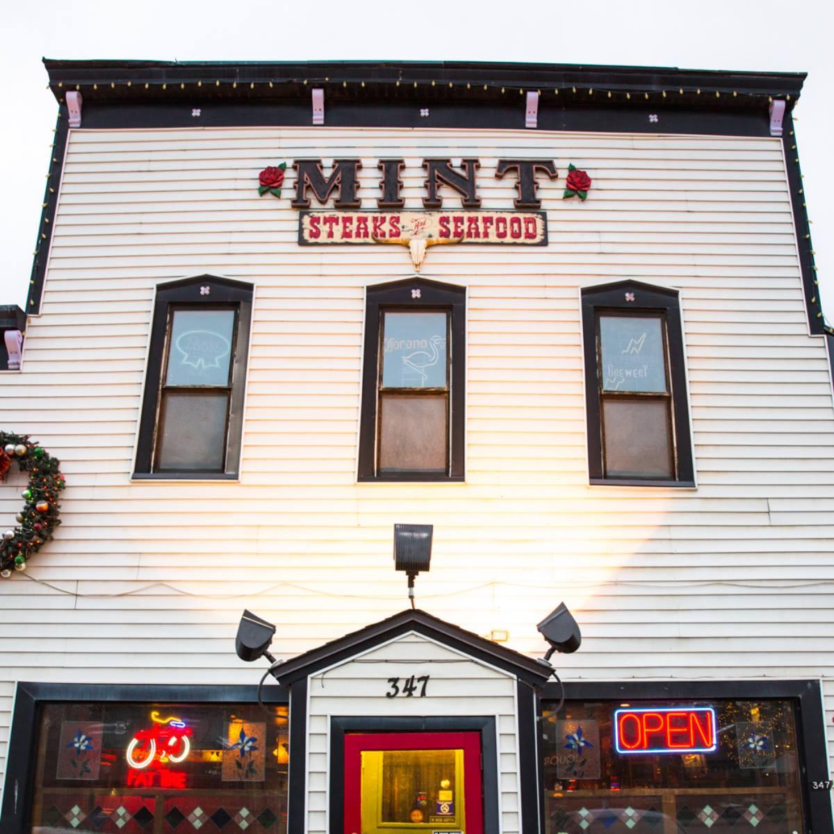 Historic Mint Steakhouse Silverthorne CO Exterior