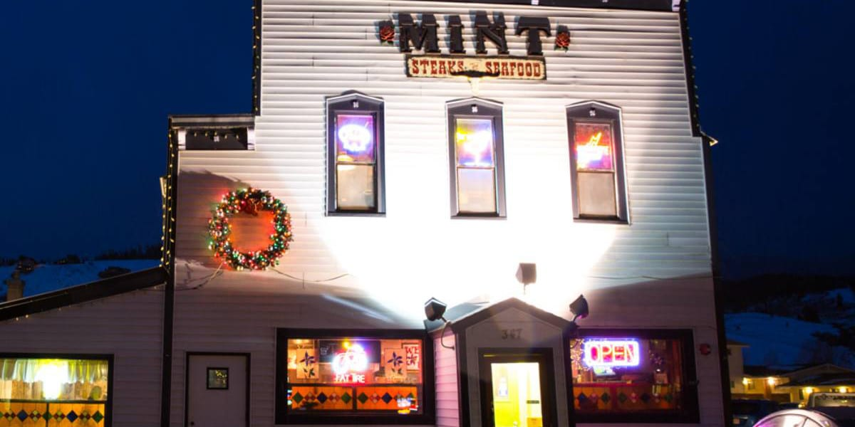 Historic Mint Steakhouse Silverthorne Colorado