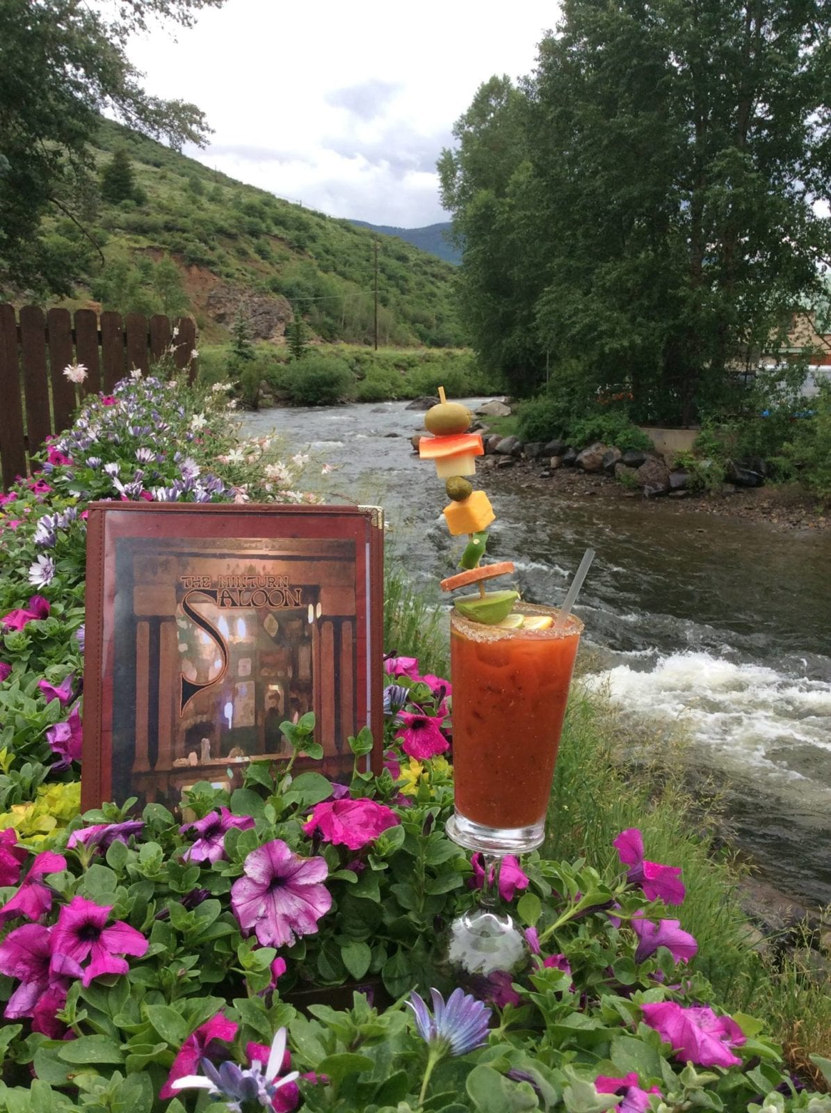 Minturn Saloon CO Eagle River Bloody Mary