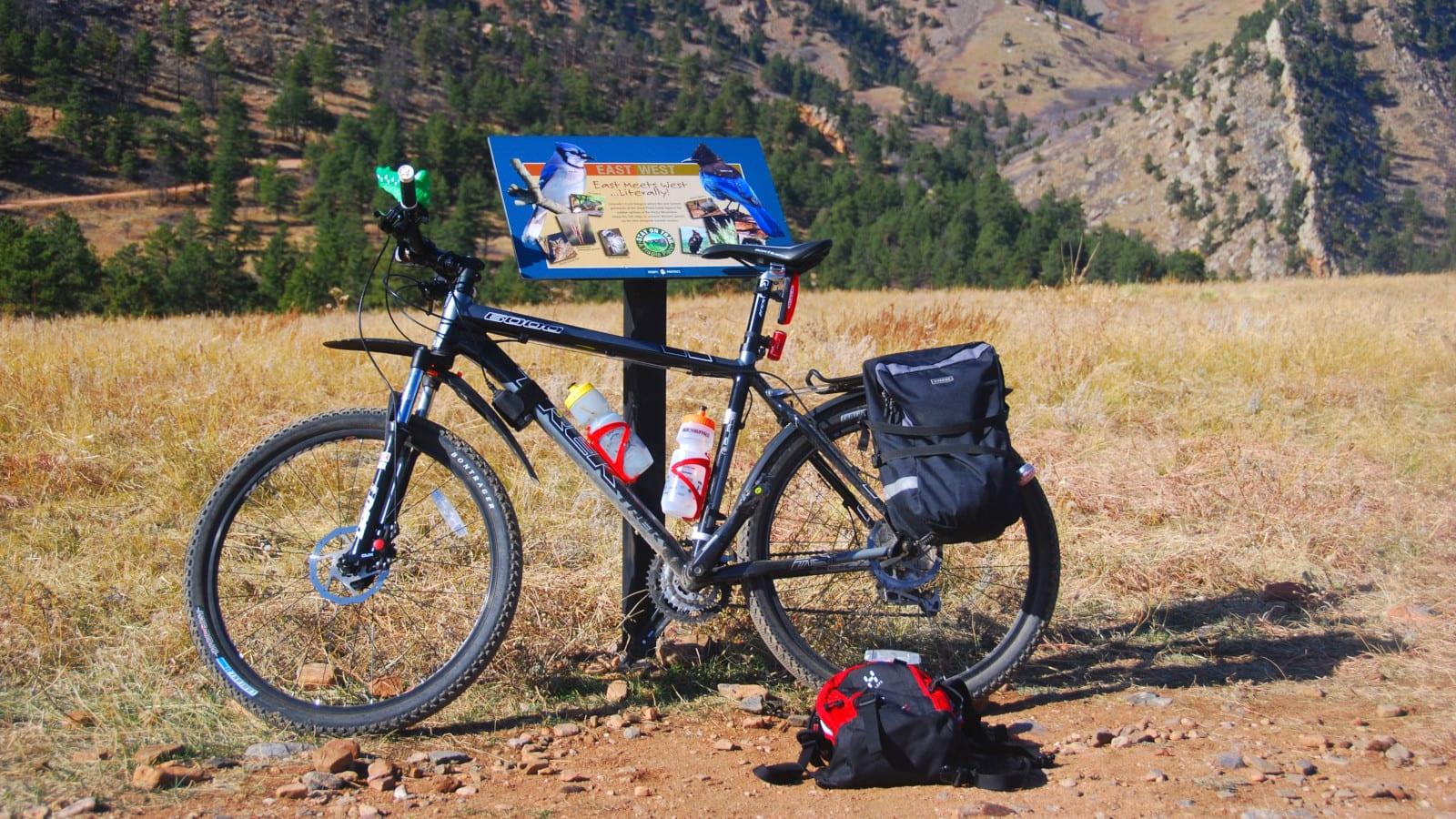 Mountain Biking Boulder Trail Colorado Bike Gear