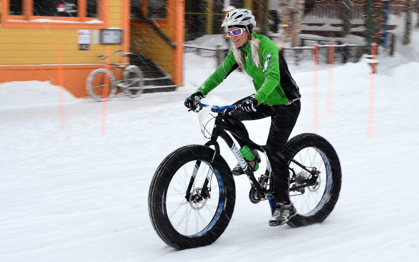Winter Mountain Biking Crested Butte CO Fat Bike