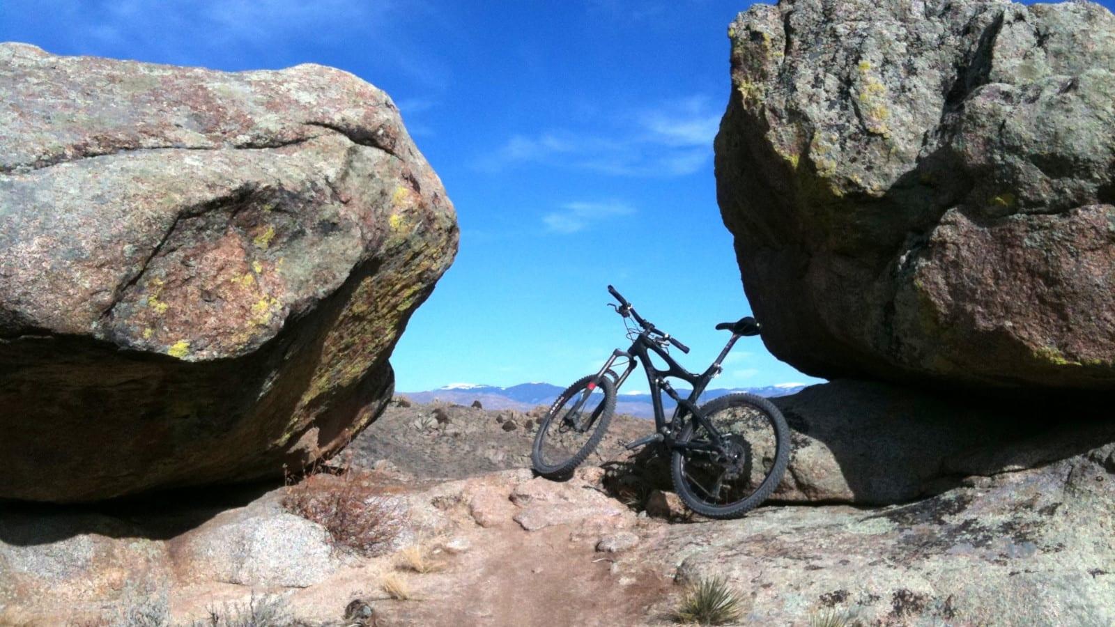 Mountain Bike Hartman Rocks Gunnison CO
