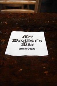 My Brother's Bar Denver Nap