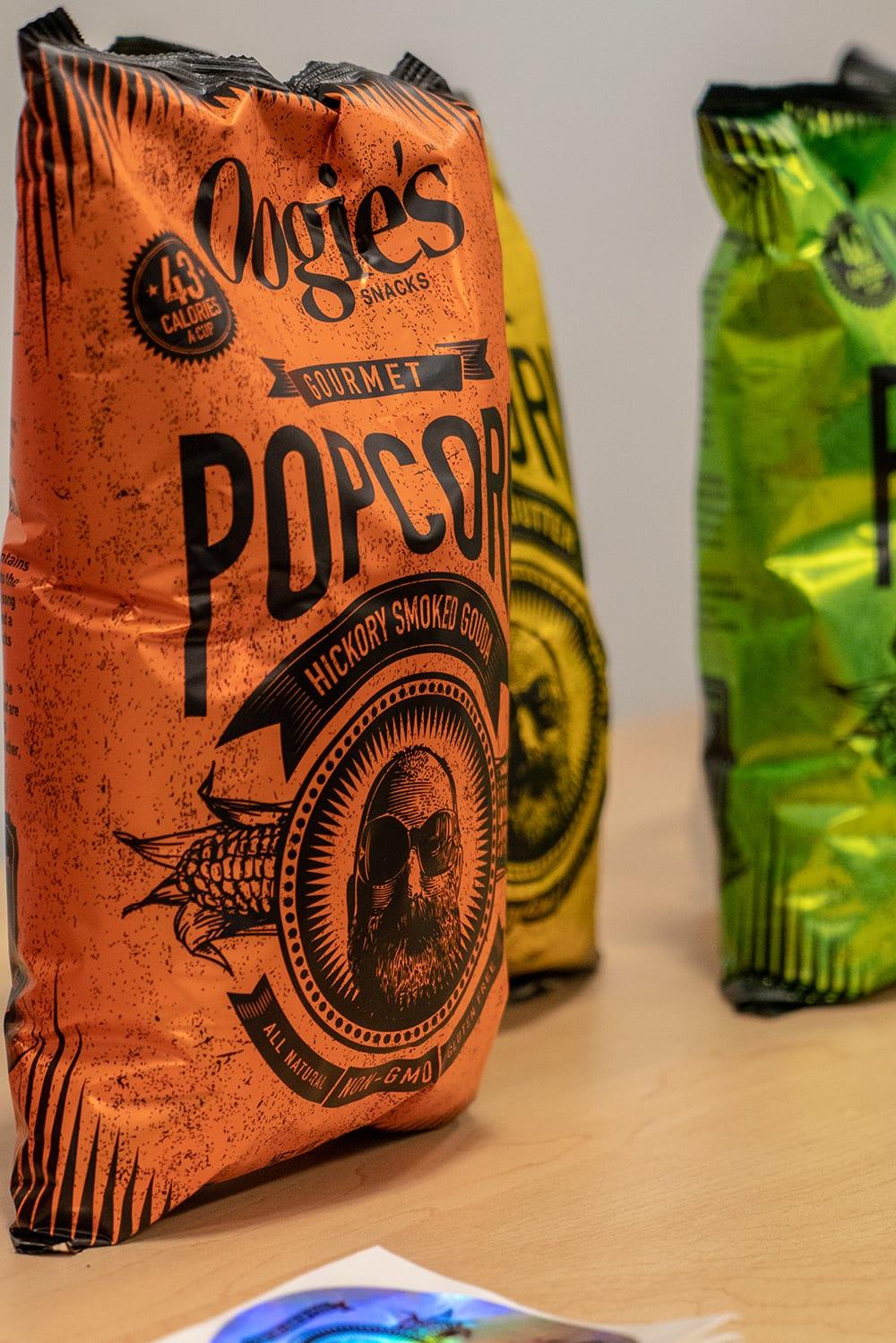 Oogie's Gourmet Popcorn Hickory Smoked Gouda