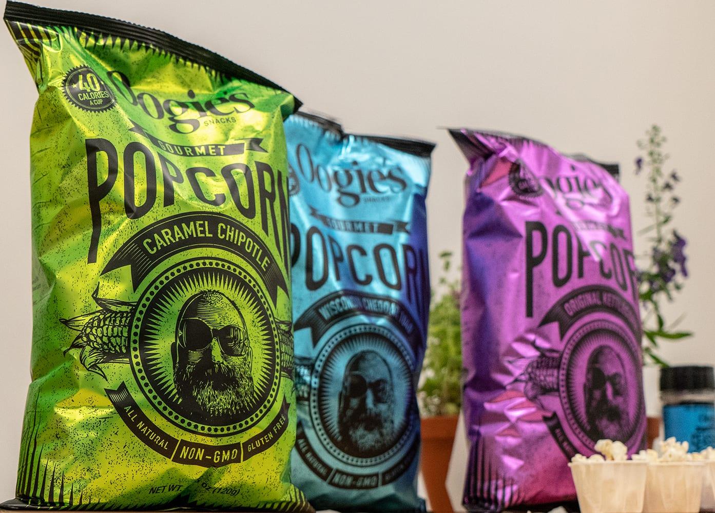 Oogie's Gourmet Popcorn Caramel Chipotle