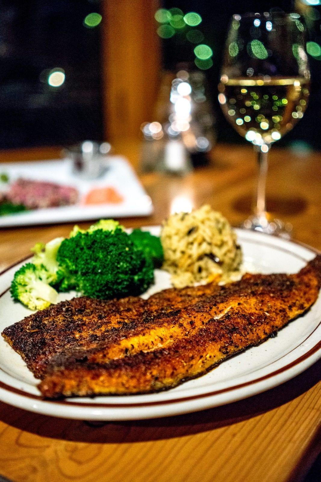 Ore House Pine Grove Steamboat Springs Fish Dinner