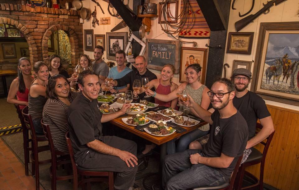 Ore House Durango CO Group Dinner