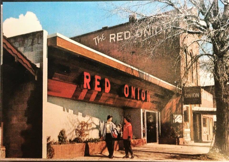 Red Onion Aspen CO Vintage Photo