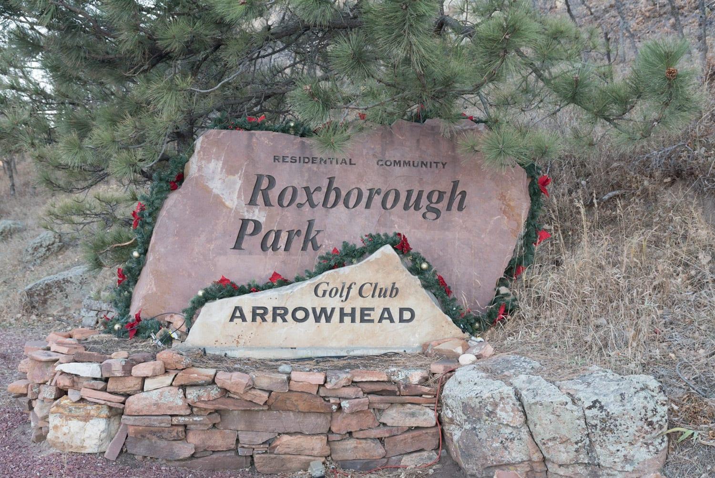Roxborough Park CO Arrowhead Golf Club