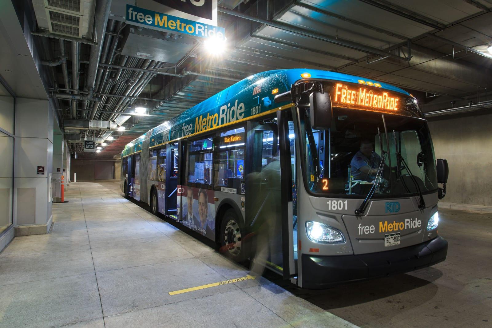 RTD Denver MetroRide Bus