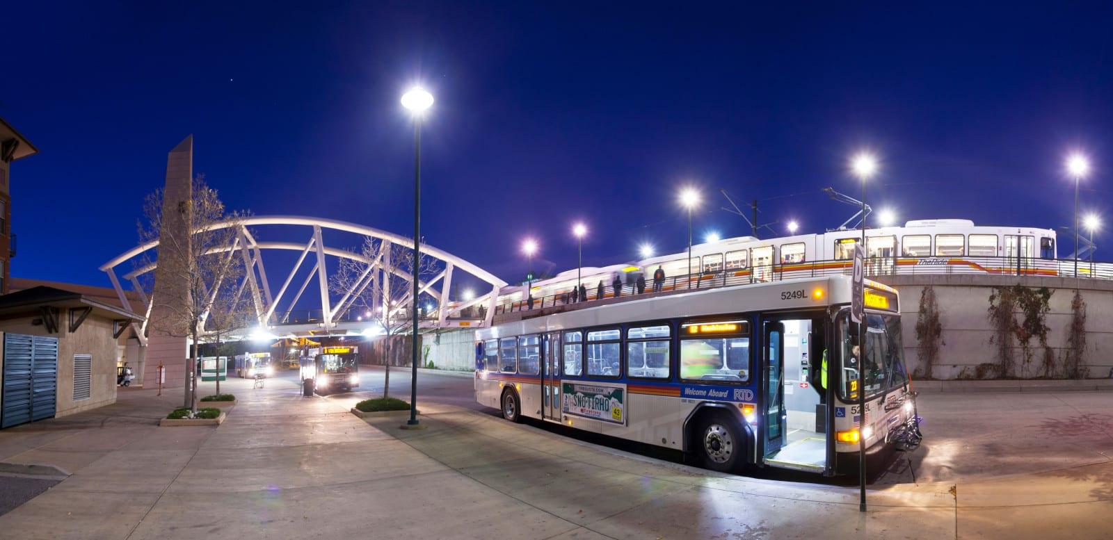 RTD Bus Light Rail Littleton CO