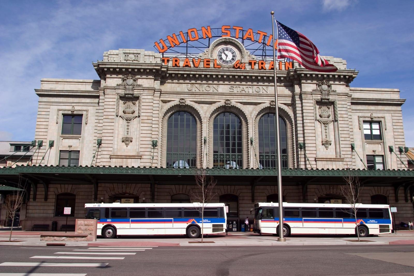 Denver Union Station Buses