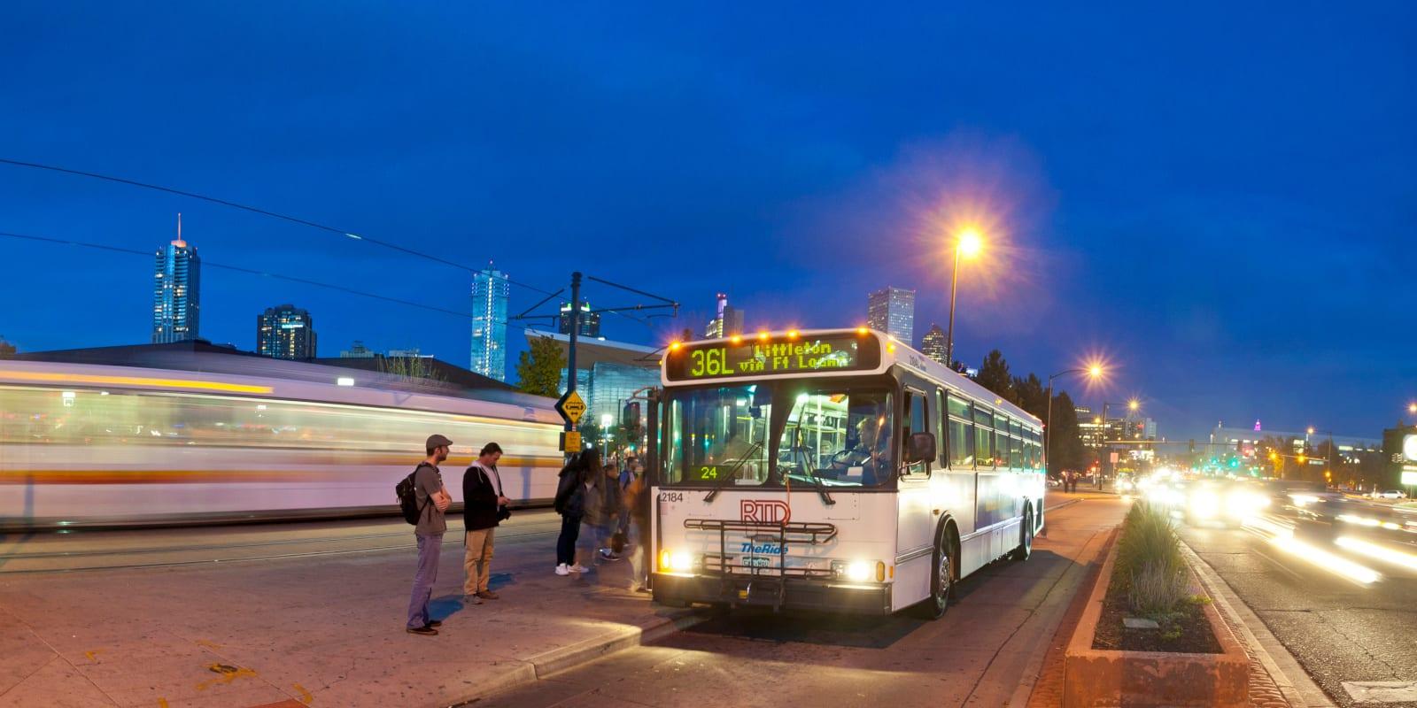 RTD Auraria 36L Bus Denver CO