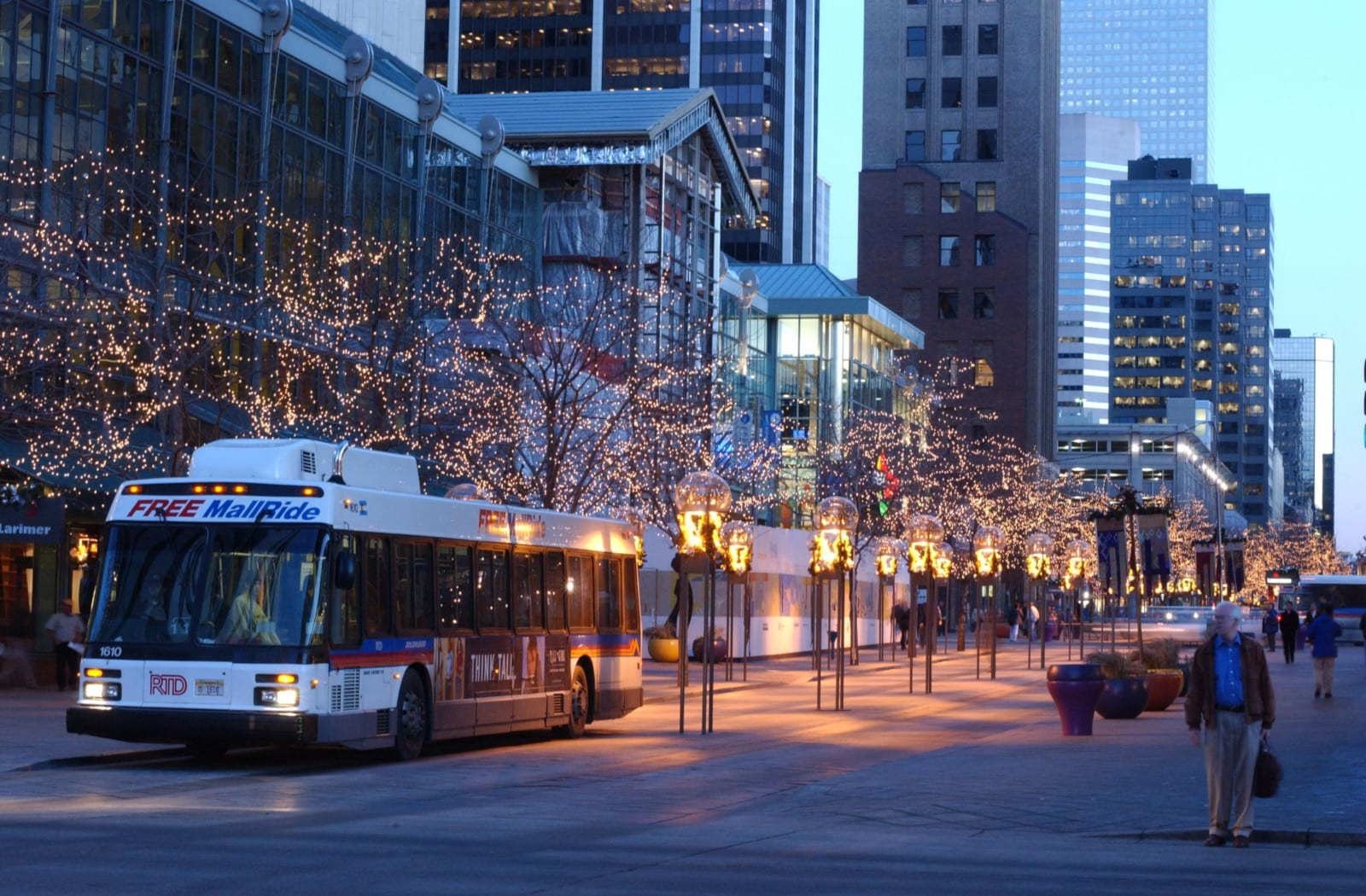 RTD 16th Street Mall Shuttle Denver
